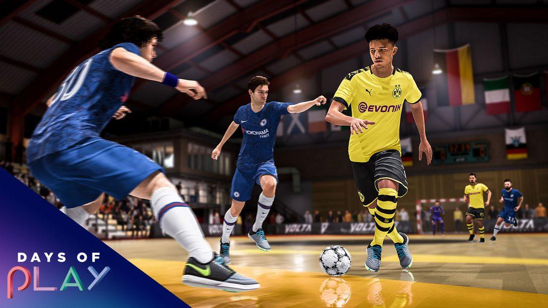 Los Days of Play llegan a PlayStation Store   Tantos juegos como jugadores