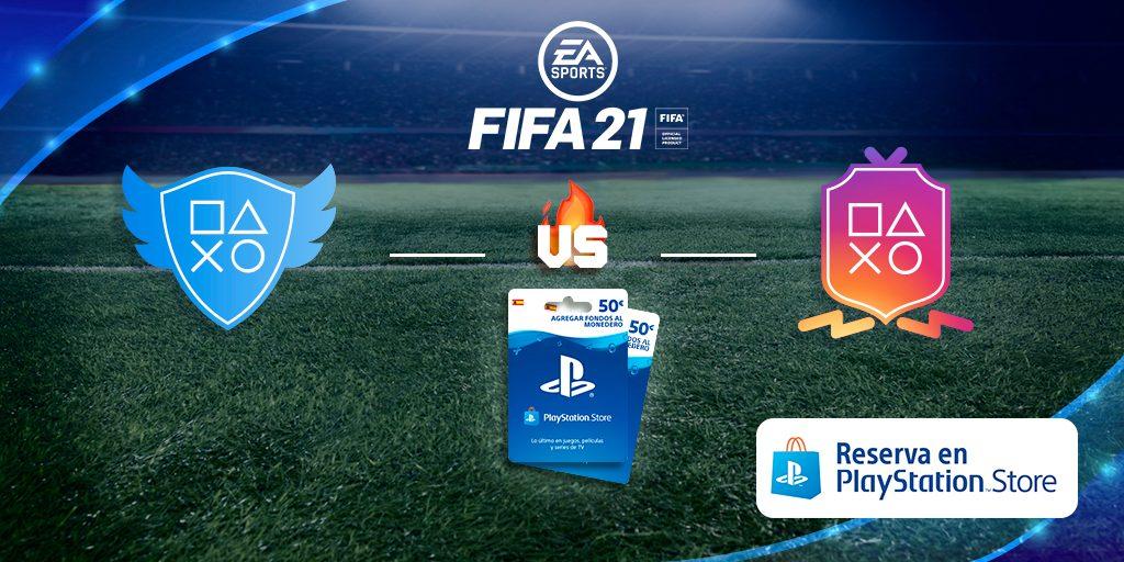 Juega nuestro partido de redes sociales y gana 100 € para EA SPORTS FIFA 21