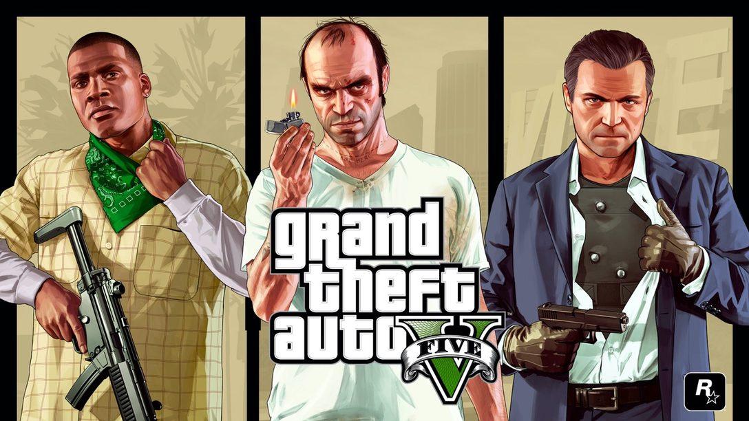Grand Theft Auto V disponible para PlayStation 5 en 2021