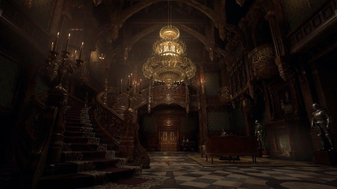 El miedo te acorralará en Resident Evil Village, disponible para PS5 en 2021