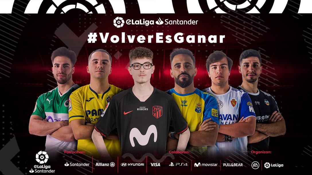 eLaLiga Santander reanuda su competición oficial