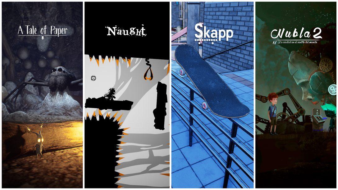 PlayStation Talents en julio | Lo último de A Tale of Paper, Naught, Skapp y más