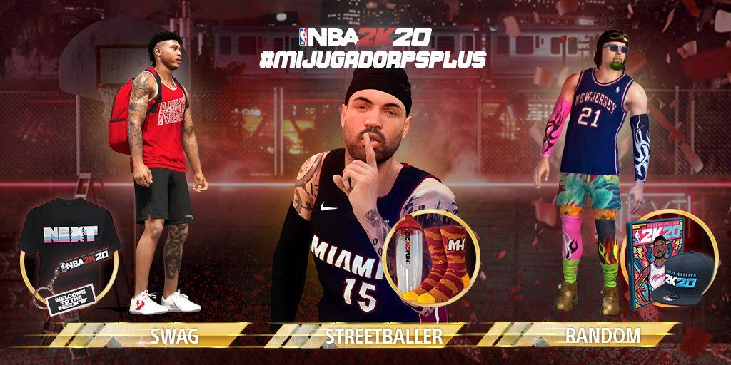 #MiJugadorPSPlus  | Crea tu personaje en NBA 2K20 con PS4 y gana premios exclusivos