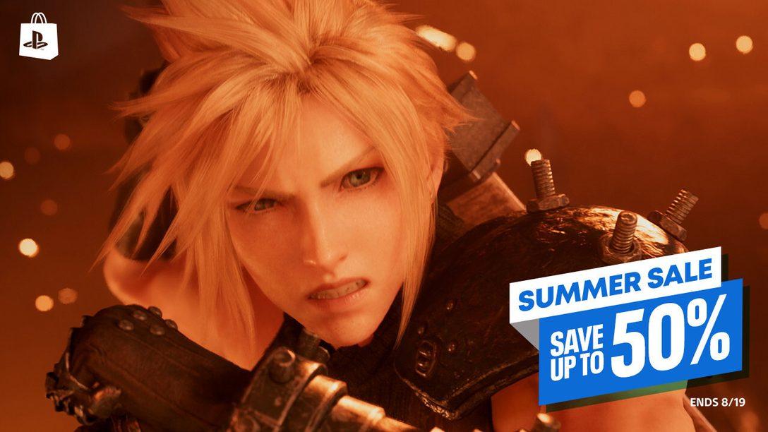 Más juegos se unen a las rebajas de verano en PlayStation Store