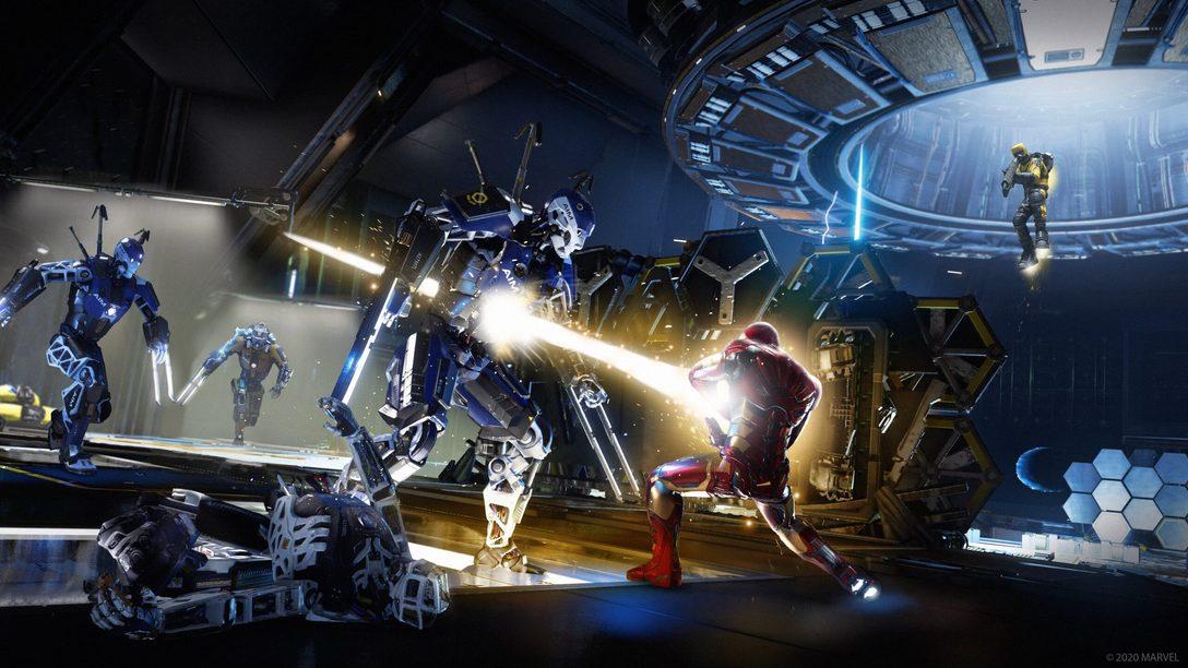 Trabajad unidos con estilo en los desafíos de comunidad y los complementos para Marvel's Avengers