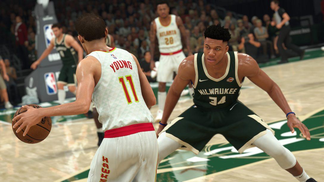 Hablamos de las novedades de jugabilidad de NBA 2K21