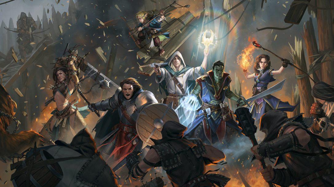 El RPG Pathfinder: Kingmaker – Definitive Edition llega hoy a PS4