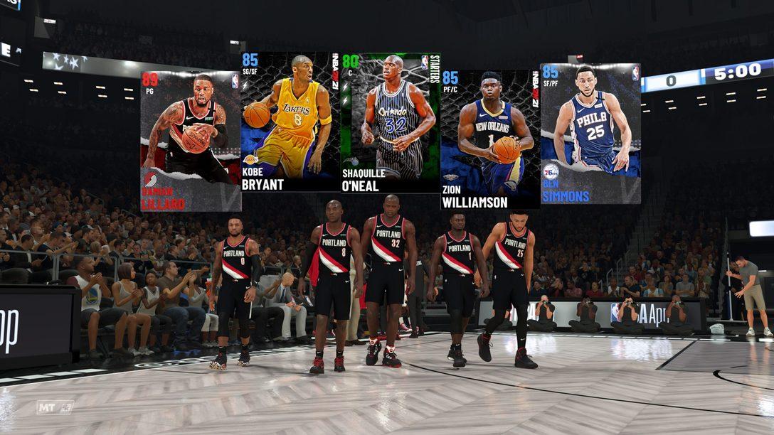 Una nueva experiencia Mi EQUIPO con NBA 2K21