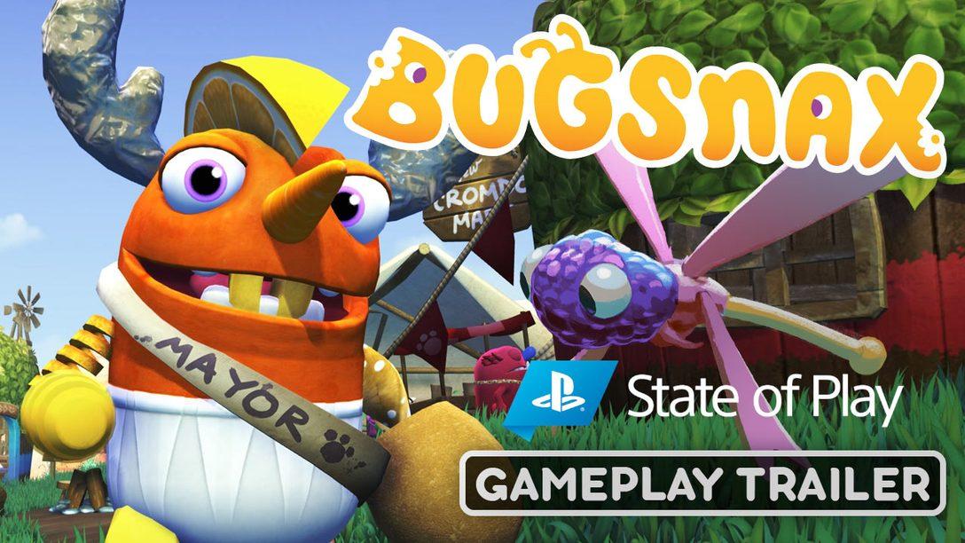 Disfruta de un delicioso bocado de imágenes de gameplay de Bugsnax