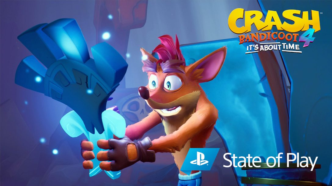 Nuevo modo invertido, más personajes jugables y más novedades sobre Crash Bandicoot 4: It's About Time