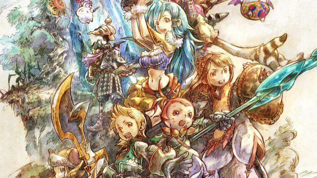 Haz un tour guiado del precioso concepto artístico de Final Fantasy Crystal Chronicles Remastered Edition