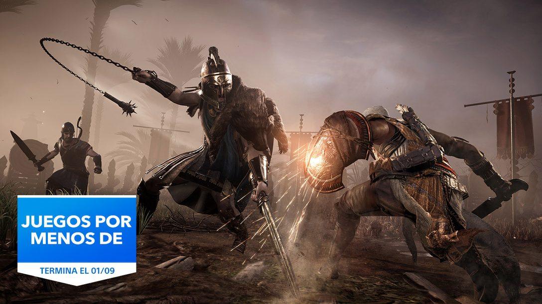 La promoción Juegos por menos de 20 € vuelve a PlayStation Store