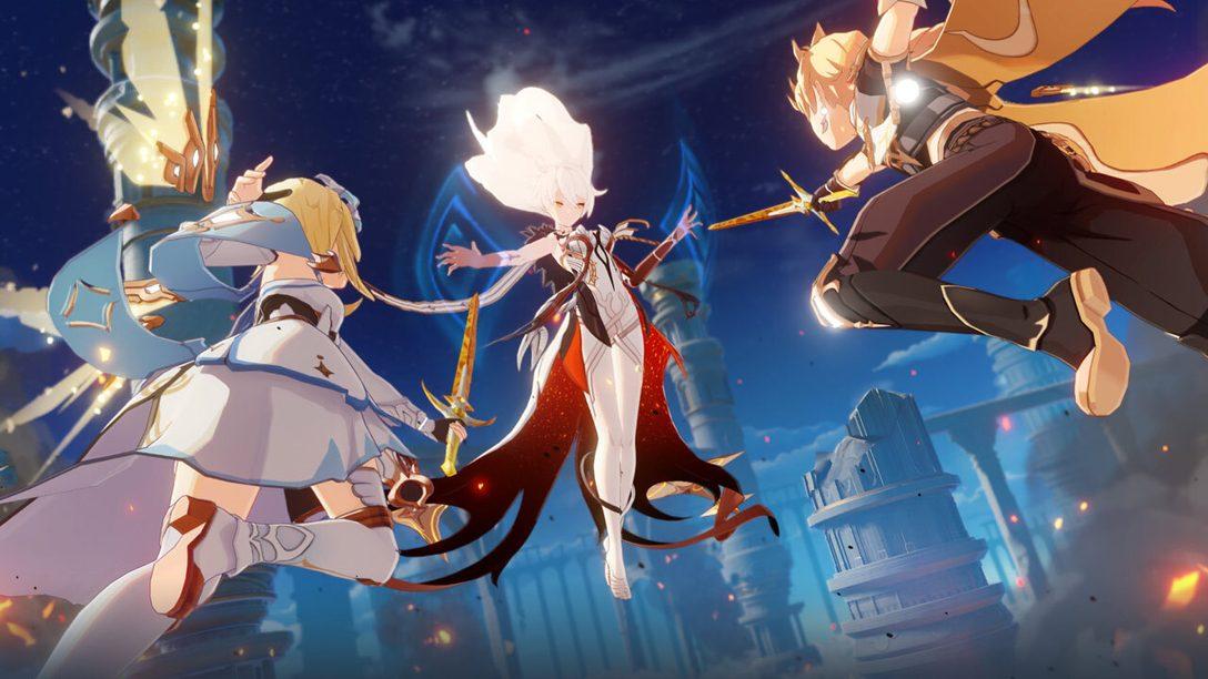 Genshin Impact llega a PS4 el 28 de septiembre