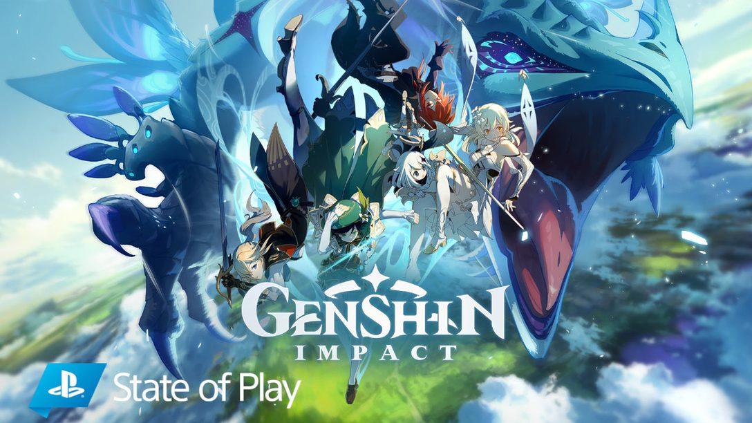 Genshin Impact llegará a PS4 este otoño