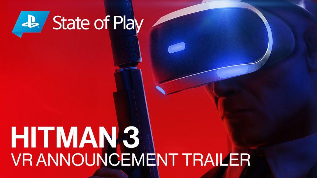 Hitman 3, disponible en enero de 2021, ofrece compatibilidad con RV