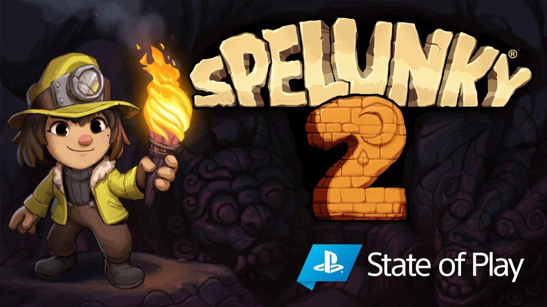 Spelunky 2 llega a PS4 el 15 de septiembre