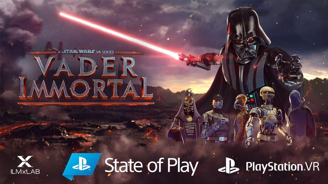 Vader Immortal: A Star Wars VR Series llega a PS VR