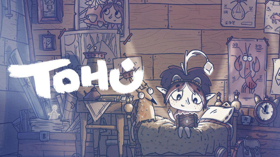 Descubre Tohu, el maravilloso nuevo juego de aventuras que llega a PS4 a finales de este año