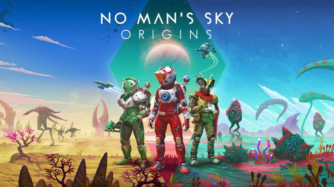 Presentamos «Origins», la última actualización de No Man's Sky