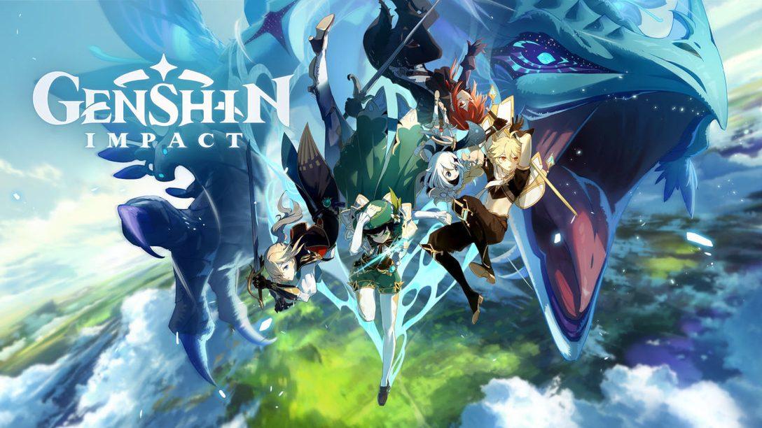 ¡Comienza una aventura épica en Genshin Impact!