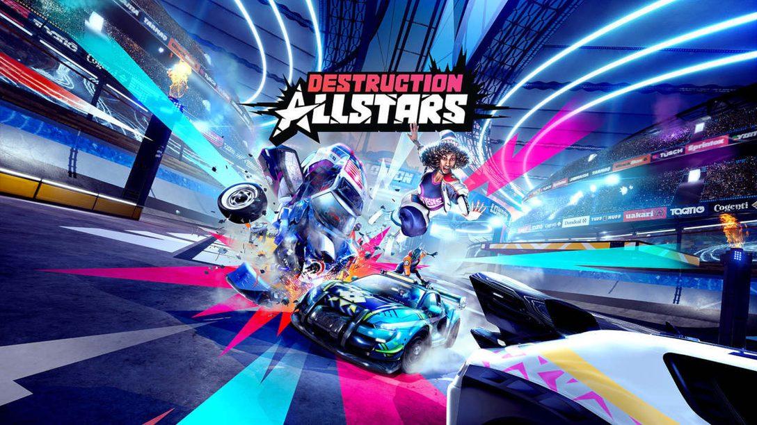 Golpea, machaca y ábrete camino hacia la fama en Destruction AllStars, próximamente en PS5