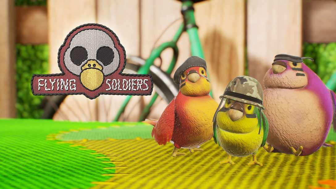 Flying Soldiers, del estudio español WildSphere, llegará el próximo 17 de septiembre a PS4