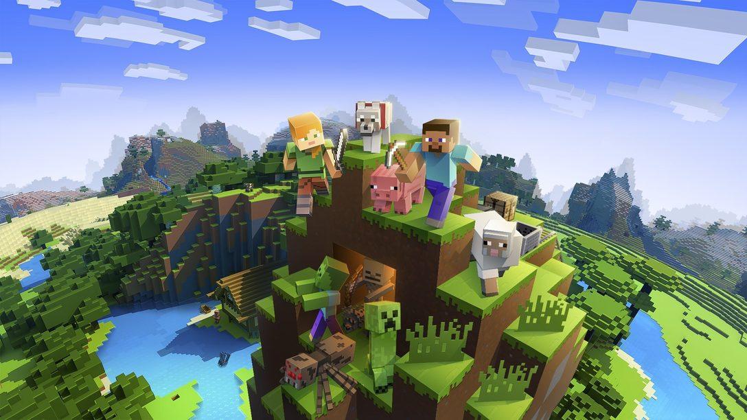 Minecraft será compatible con PS VR en septiembre