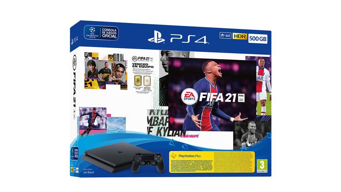 Prepárate para los nuevos packs de FIFA 21 y PS4 que llegan este otoño