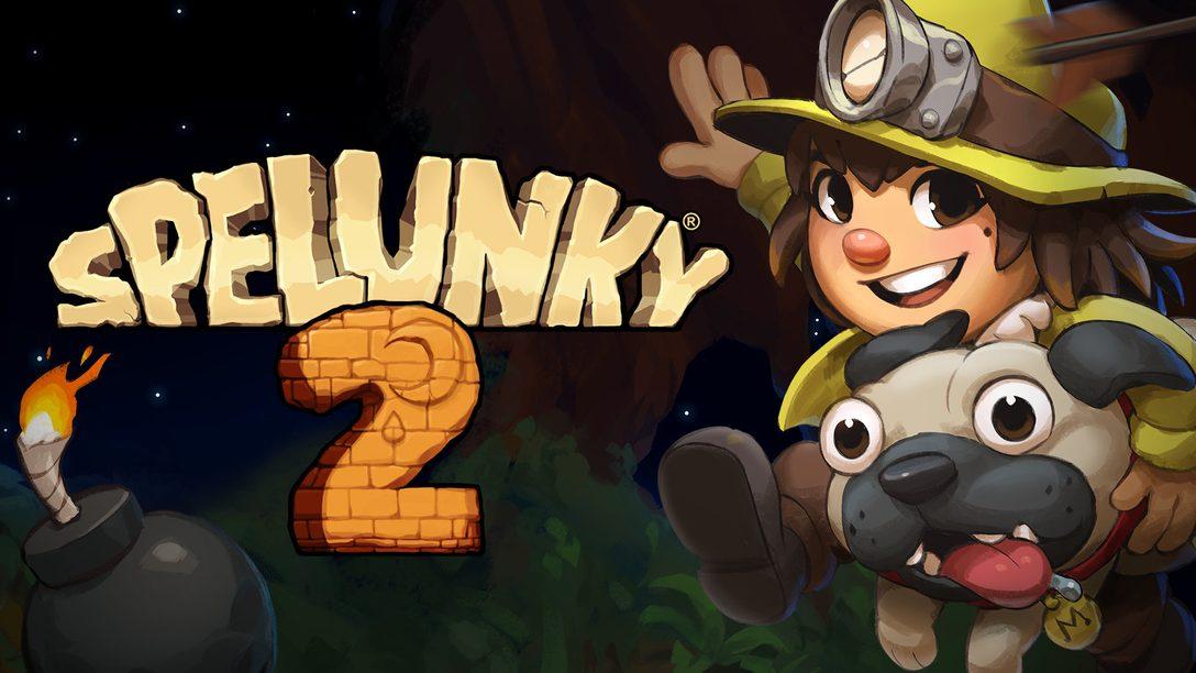 Hoy se lanza Spelunky 2 para PS4
