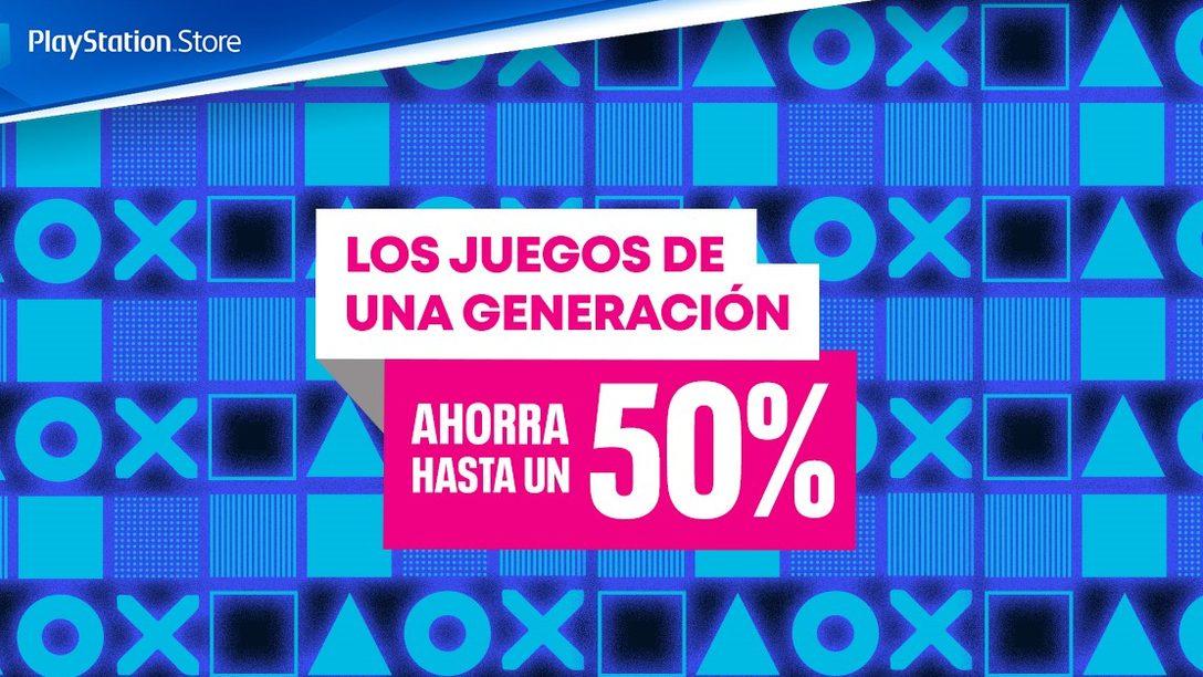 La promoción Juegos de una generación llega a PlayStation Store
