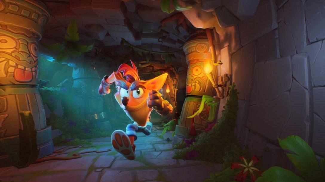 Crash Bandicoot 4: It's About Time llega a PS4 el 2 de octubre
