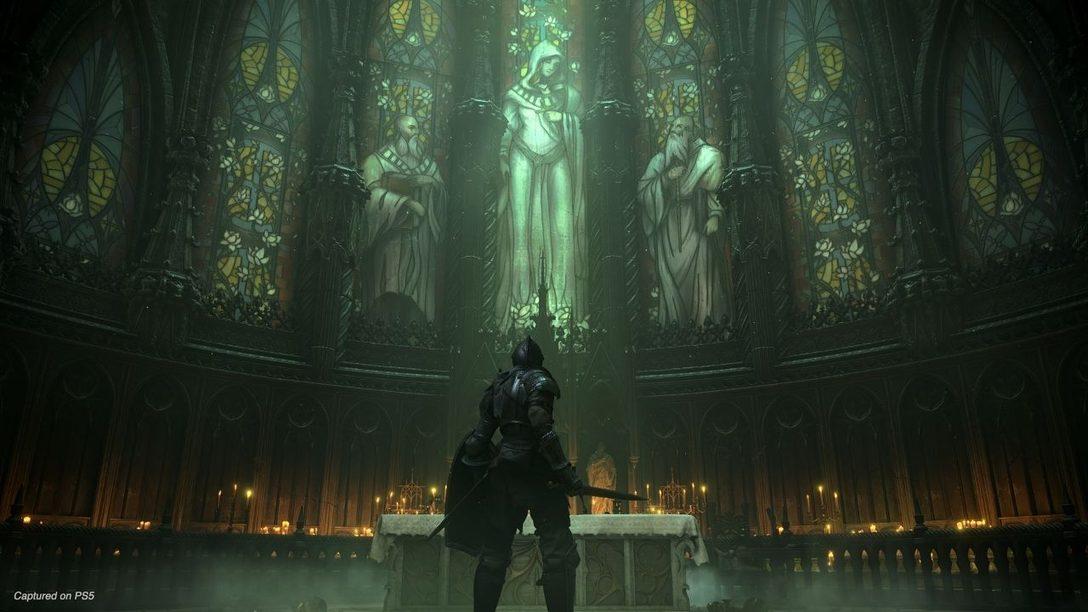 El nuevo gameplay de Demon's Souls muestra jefes, localizaciones y más