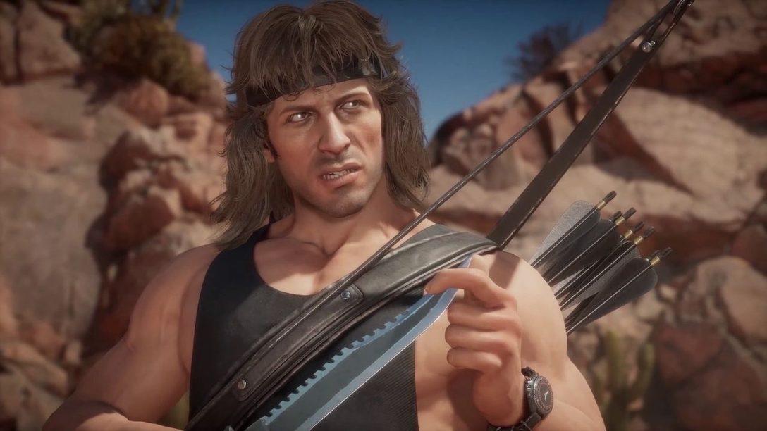 Mortal Kombat 11 Ultimate – Mostramos el gameplay de Rambo