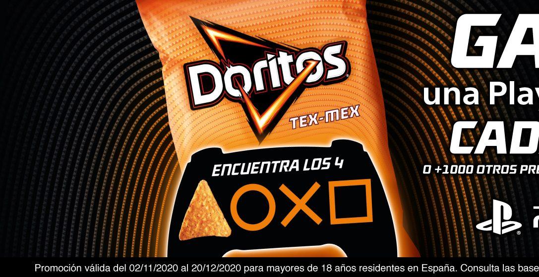 Concurso: Gana una PlayStation 5 con Doritos