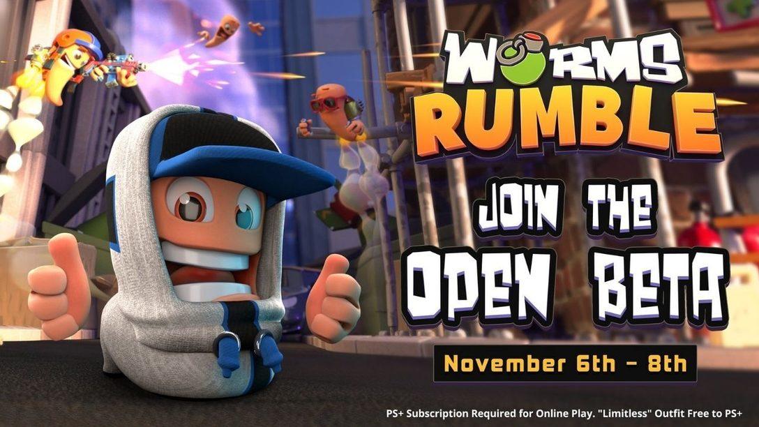 7 consejos para dominar en la beta abierta de este fin de semana en Worms Rumble
