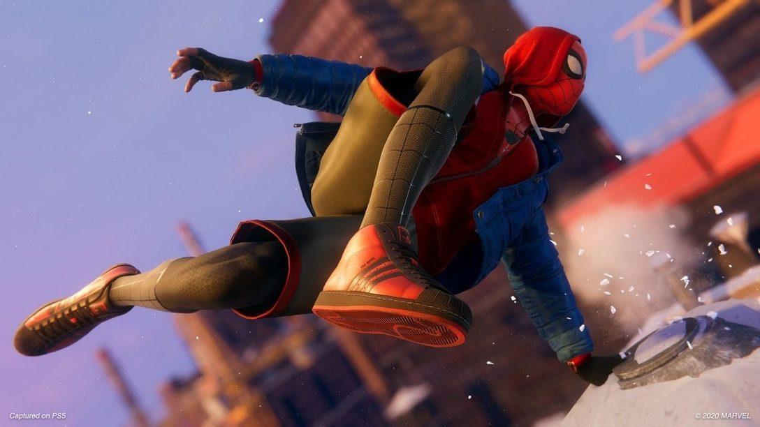 Convertíos en superhéroes Superstar en Marvel's Spider-Man: Miles Morales