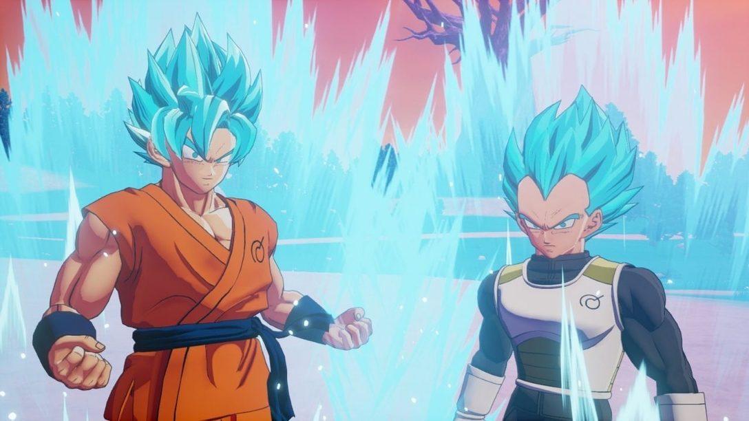 El segundo episodio del combate contra jefes llega mañana para Dragon Ball Z: Kakarot