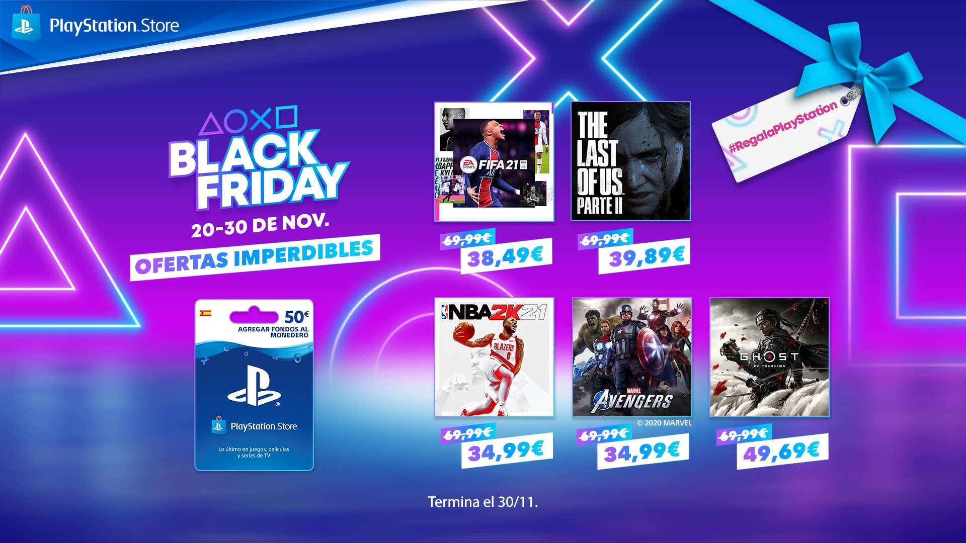 Es BLACK FRIDAY | Regala PlayStation – PlayStation.Blog en español