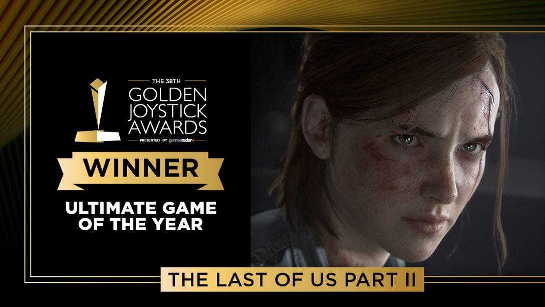 The Last of Us Parte II arrasa en los Golden Joystick Awards 2020