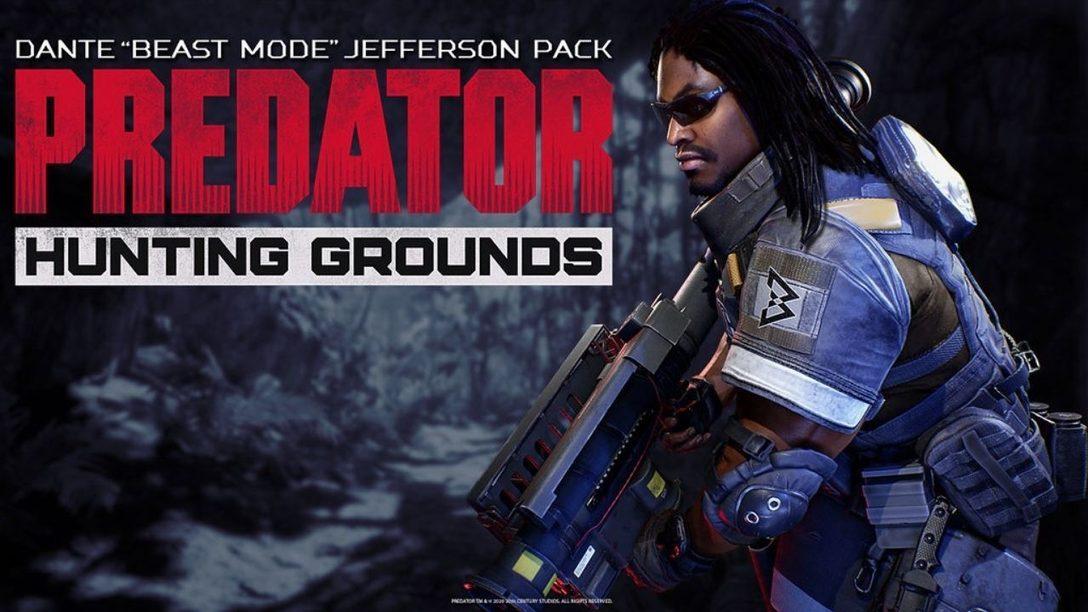 "Marshawn Lynch llega a Predator: Hunting Grounds como Dante ""Beast Mode"" Jefferson"
