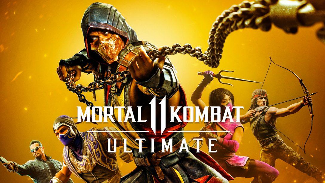 #DualSenseMK11UltimatePS5   Lanza tu fatility y gana una Kollector Edition de Mortal Kombat 11 Ultimate para PS5 y un DualSense