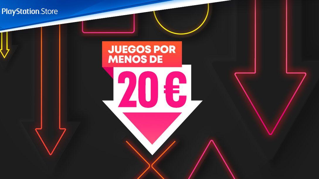 La promoción Juegos por menos de 20 € llega a PlayStation Store