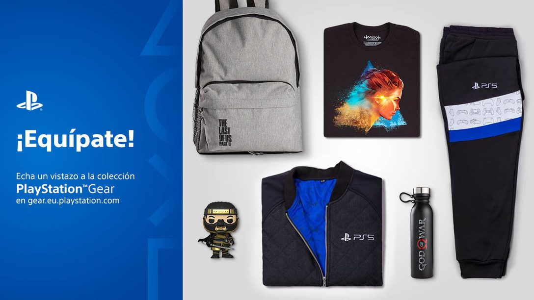 PlayStation Gear Store llega a nuevos países; anuncio de nuevos productos de Horizon Raw Materials