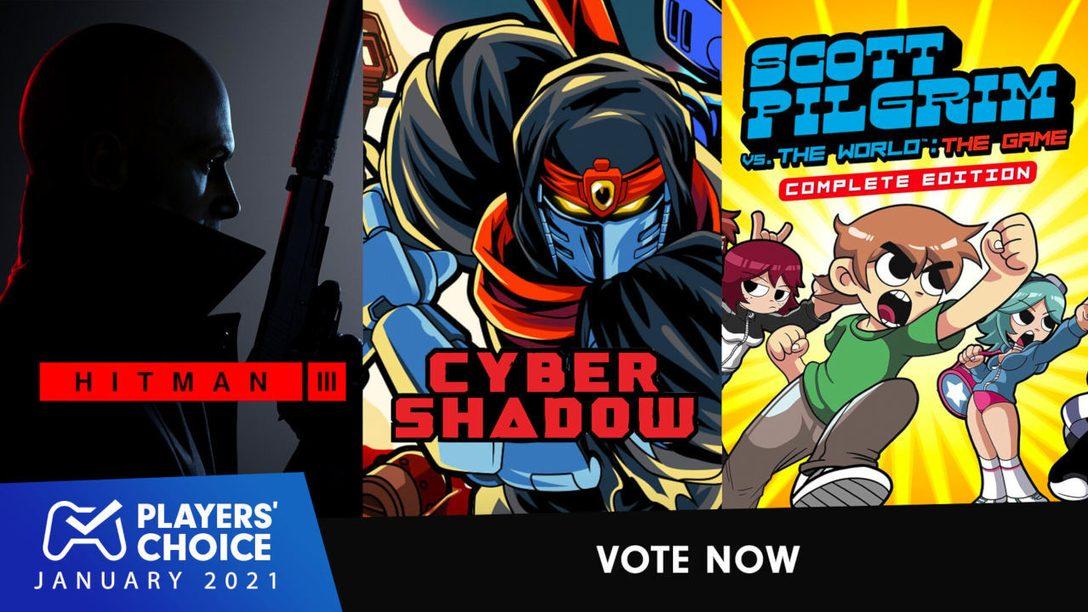 Elección de los jugadores | Votad al mejor juego nuevo de enero de 2021