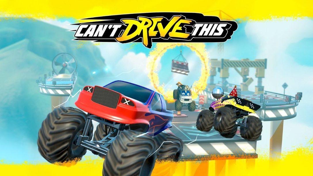 Can't Drive This: el caos en pantalla dividida llega a PS4 y PS5 el 19 de marzo