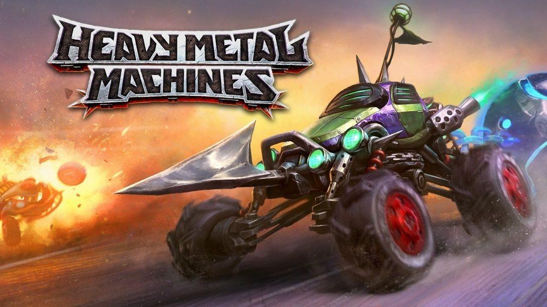 El juego de combate con vehículos gratuito Heavy Metal Machines estará disponible en PS4 y PS5 mañana