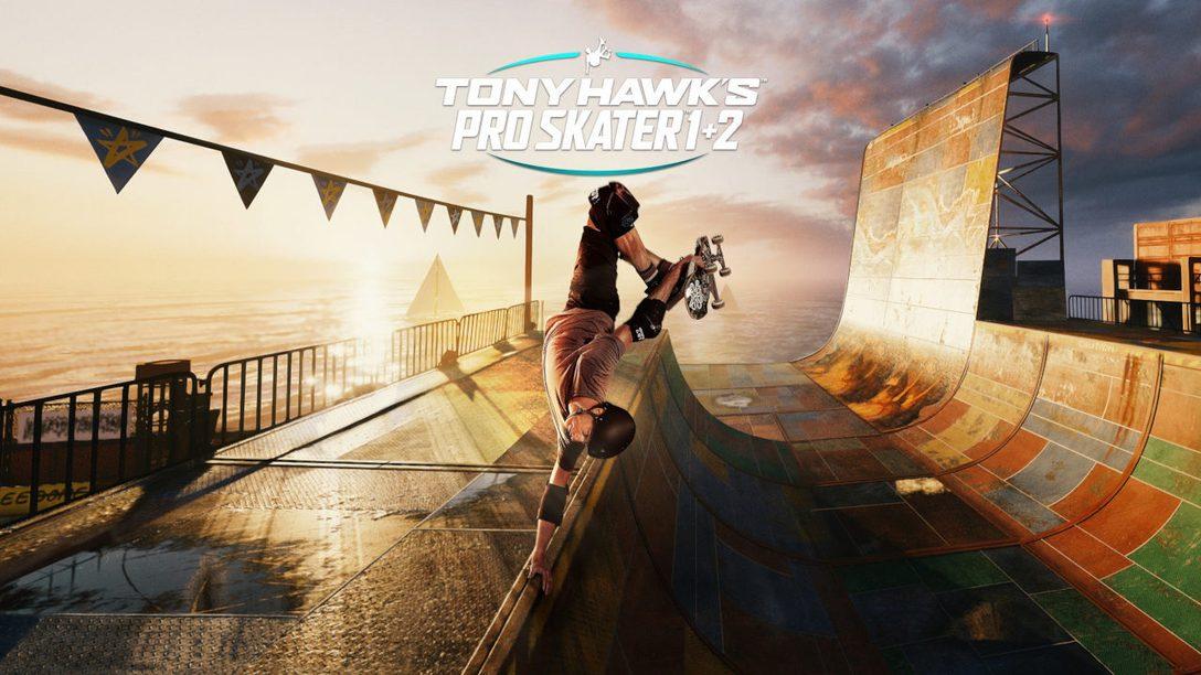 Tony Hawk's Pro Skater 1 + 2 llega a PS5 el 26 de marzo