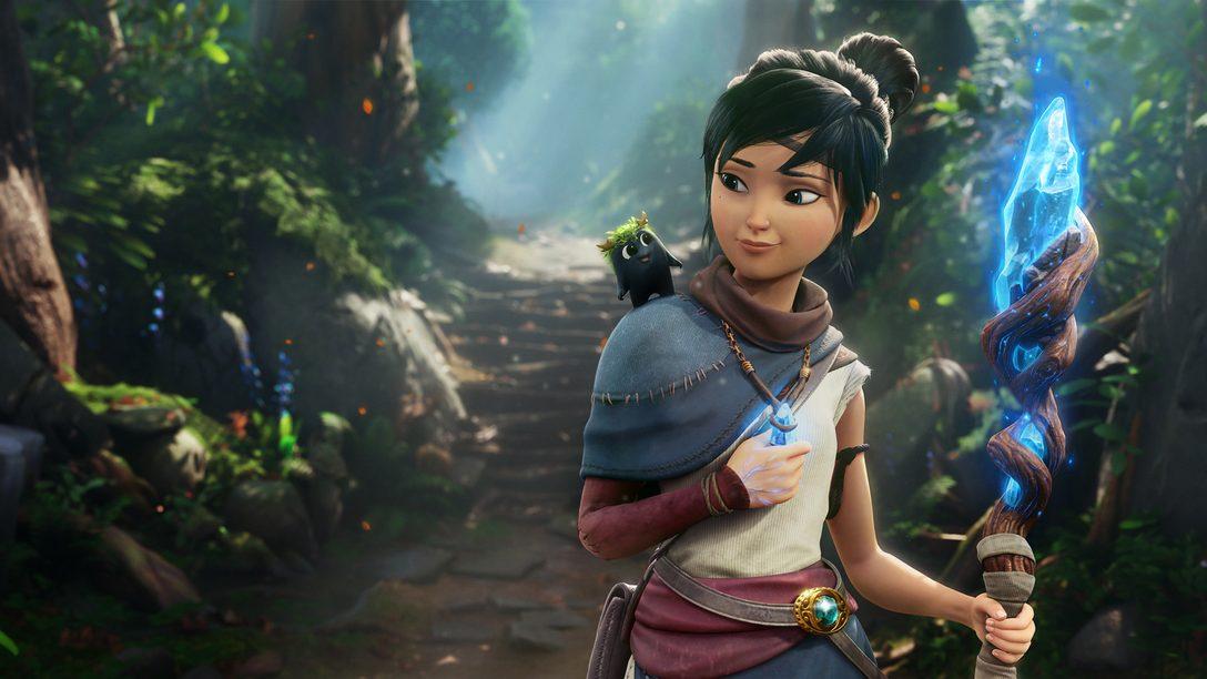 Revelamos nuevos detalles de la mecánica de juego y la conmovedora historia en el tráiler de Kena: Bridge of Spirits