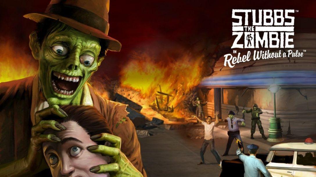 Stubbs the Zombie in Rebel Without a Pulse cobra vida en PlayStation el 16 de marzo