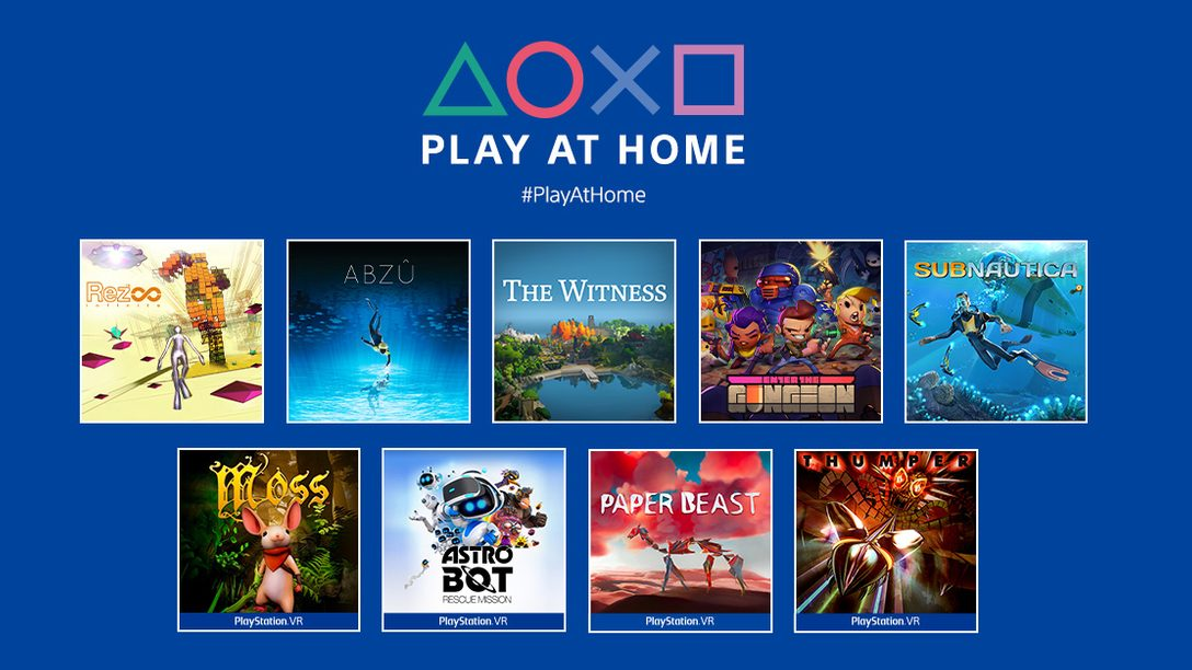 Novedades de 2021 de Play at Home: 10 juegos en descarga gratuita esta primavera